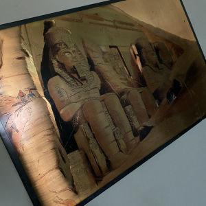 Μεγαλος χειροποίητος χάλκινος πίνακας (χαλκογραφία) διαστάσεις 2mX0,80cm
