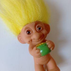 Ευχούλης Troll doll vintage