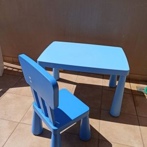 Παιδικό τραπεζάκι και καρέκλα