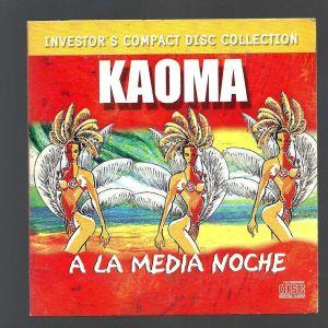 CD - ΚΑΟΜΑ - A LA MEDIA NOCHE - LATIN