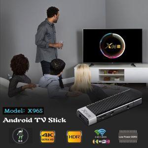 X96S Smart TV Android TV Stick Android 9.0 Pie Amlogic S905Y2(Amlogic S905X2) Quad Core 64bit   4GB RAM  32GB ROM   4K UHD H.265 2.4GHz 5.8G Dual Wifi