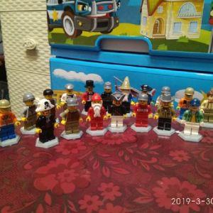 20 Φιγουρες Playmobil Lego