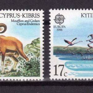 CYPRUS - 1986 - EUROPA CEPT - MNH