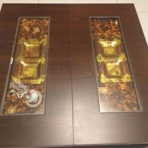 2 τραπέζια σαλονιού μέσης και βοηθητικό