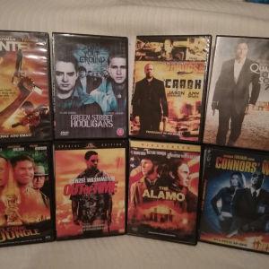 8 DVD Ταινίες Δράσης ΓΝΉΣΙΑ