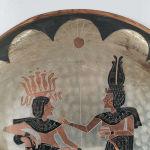 Χάλκινο τοίχου Αιγυπτιακό εποχής 1960