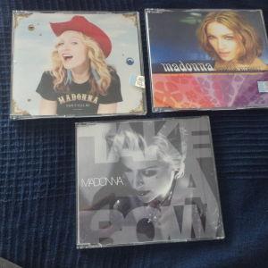Madonna 3 maxi singles cd