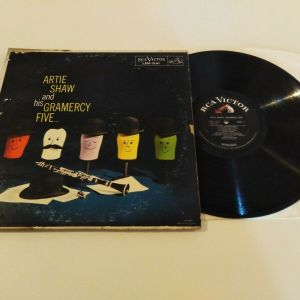 ARTIE SHAW AND HIS GAMERCY FIVE - SAME VINYL LP RECORD