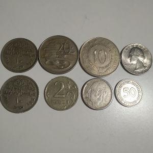 διαφορά ξένα νομίσματα