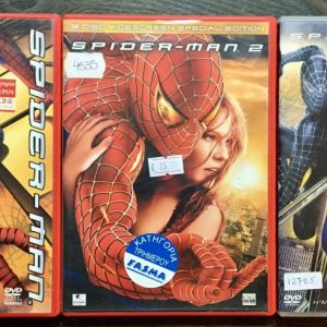 3 Original DvD - DVD SPIDERMAN TRILOGY