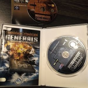COMMAND AND CONQUER ZERO HOUR PC DVD