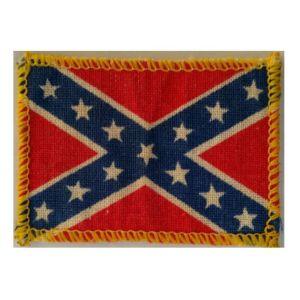 Vintage Ραφτό Σήμα  Σημαία Αμερικανικού Νότου