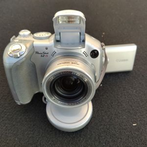 Canon PowerShot S2 IS Digital Camera. Made in Japan.