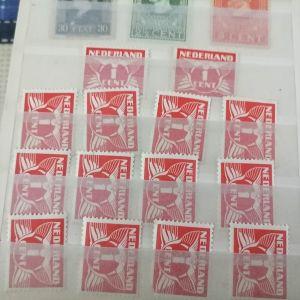 Ασφραγηστα γραμματοσημα λοτ
