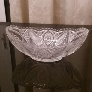 Κρυστάλλινο διακοσμητικό μπωλ