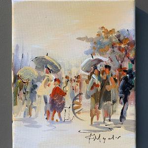 Πανέμορφο Έργο Τέχνης Της Ζωγράφου Μουρατίδου