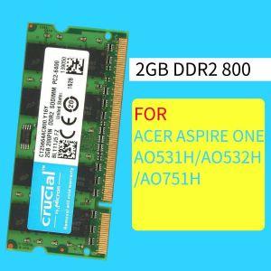 2 ΜΝΗΜΕΣ ΓΙΑ ΛΑΠΤΟΠ ΚΑΙΝΟΥΡΙΕΣ DDR2 2X2GB 800MHZ