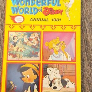 THE WONDERFUL WORLD OF DISNEY - ANNUAL 1981