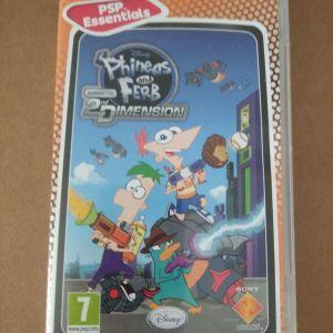 Θηκη για κασετα PSP *Phineas and Ferb*.