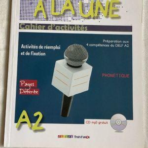 3 Βιβλία Γαλλικών για προετοιμασία Α2