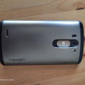 Θήκη Spigen slim armor για LG-G3_D855 χρώμα gunmetal