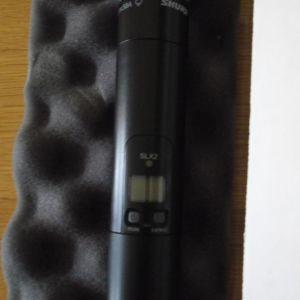 Μικρόφωνο Ασύρματο Shure Beta58 wireless slx2 και Δέκτης Shure SLX4 Wireless Receiver