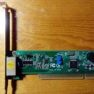 MOTOROLA Fax modem κάρτα PCI