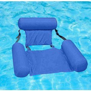 Καρέκλα νερού Poolmaster Φουσκωτό σαλόνι πισίνας μπλε