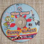 PC CD-ROM . VIDEO GAMES *Παιχνιδια *FUNNY VIDEOS*.