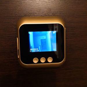 Ψηφιακη LCD κάμερα-ματάκι με κουδούνι με λειτουργία LED νυχτερινή όραση.