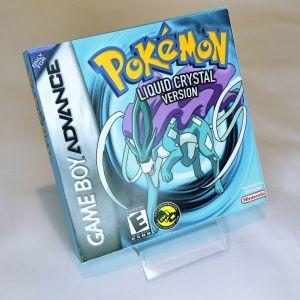 Pokemon Liquid Crystal Version κασέτα & κουτάκι Game Boy Gesto_official