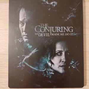 Το Κάλεσμα 3 The Conjuring 3 The Devil Made Me Do It 4K UHD Blu-ray Steelbook