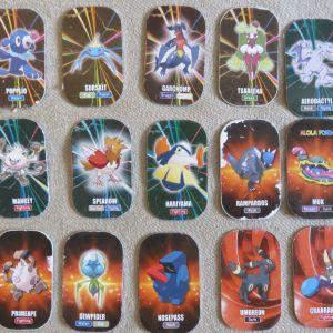 45 μεταλλικες ταπες Pokemon sun&moon