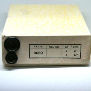 κουτί με vintage κουμπιά 1970s