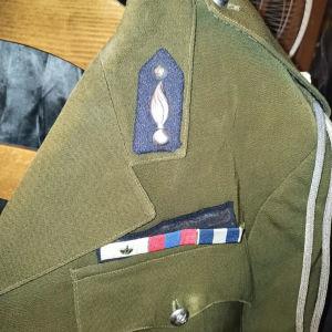 στολή υπομοιραρχου βασιλικής χωροφυλακής επίσημη