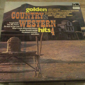 Golden country & western - Hits 4 (LP)