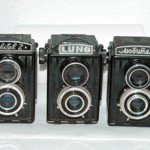 Τριπλέτα LUNA, Lubitel 2, και Lubitel 2 Κυριλλικά