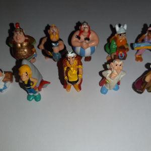 asterix φιγούρες kinder