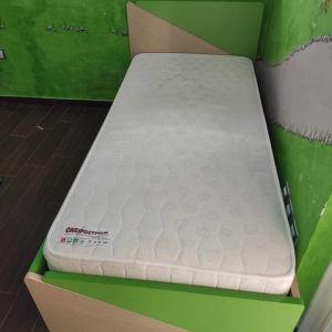 Ημιδιπλο παιδικό κρεβάτι Irven