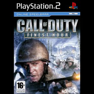 PS2 Game -CALL OF DUTY FINEST HOUR