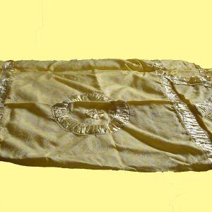 Vintage κουβερλί νυφικό 70s