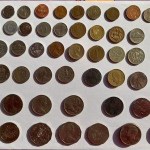 Ξένα νομίσματα και Χαρτονομίσματα