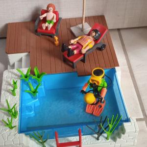 Playmobil Πισίνα με εξέδρα
