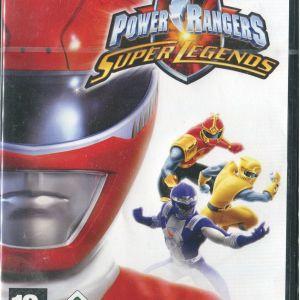 Power Rangers - Super Legends PC DVD, ολοκαίνουριο, σφραγισμένο.