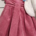 """""""Βρεφικό φόρεμα και μπολερό, για κοριτσάκι"""""""