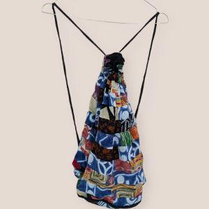 Υφασμάτινη Vintage τσάντα πλάτης