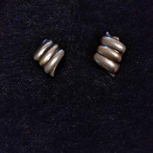 Vintage σκουλαρίκια.Ασημενια