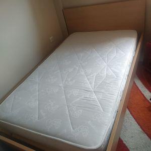 Κρεβάτι και στρώμα