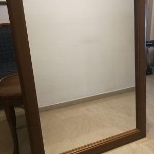 καθρεφτης ξυλινος