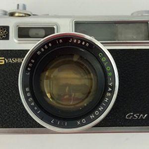 Yashica Electro 35 with color Yashinon DX 1:1.7 f=45mm lens φωτογραφική μηχανή